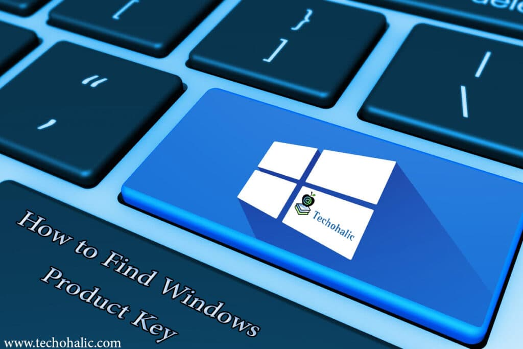 How to find Windows product key