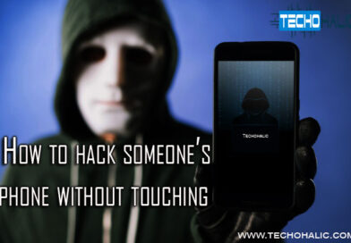 How to hack someone's phone without touching