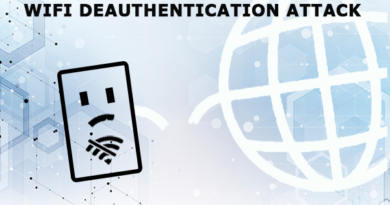 WiFi Deauthentication Attack